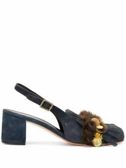 Kolor туфли-лодочки на каблуке с кисточками 20WCLA02511