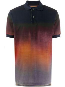 Paul Smith рубашка поло с эффектом омбре M1R698PEP1943