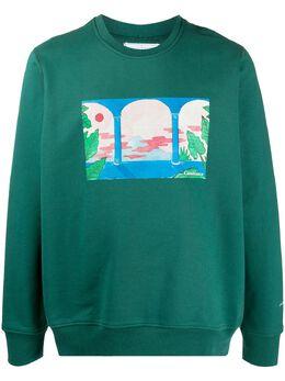 Casablanca свитер Barabella с принтом MJS001