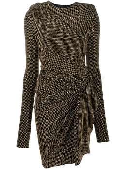 Alexandre Vauthier платье мини с заклепками 203DR1337B1029C203