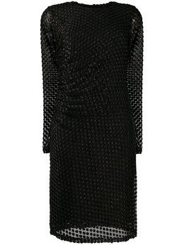 Steffen Schraut платье из филькупе в горох 20064699