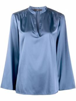 Steffen Schraut атласная блузка с воротником-стойкой 20068338
