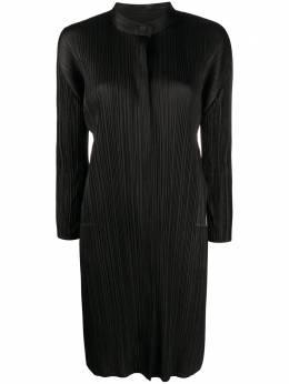 Pleats Please Issey Miyake плиссированное платье мини PP08JH145