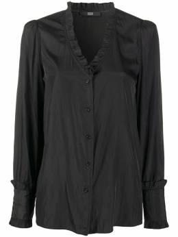 Steffen Schraut блузка с оборками и V-образным вырезом 20064739