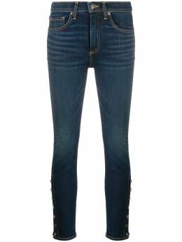 Veronica Beard джинсы Debbie с боковыми разрезами J19110720496DK