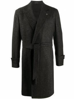 Tagliatore однобортное пальто с поясом 61UIC117CARIC
