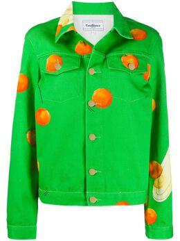 Casablanca джинсовая куртка Les Oranges MJK003