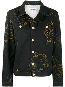 Casablanca джинсовая куртка Constellation MJK003