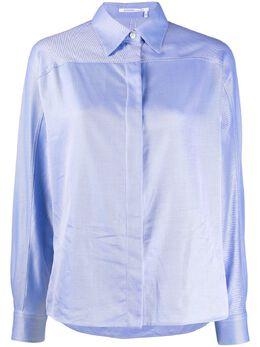 Agnona расклешенная рубашка с длинными рукавами TD0008U2005
