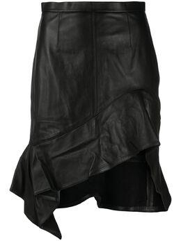 Alexander Wang юбка с асимметричным подолом 1WC2205160