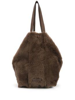 Brunello Cucinelli сумка-тоут из искусственного меха MBHSD2162C7891