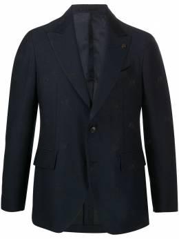Gabriele Pasini однобортный пиджак с вышивкой G16067GP16436