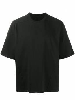Rick Owens DRKSHDW футболка свободного кроя с короткими рукавами DU20F1253RIG