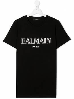 Balmain Kids футболка с логотипом 6N8551NX290