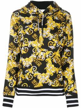 Versace Jeans Couture худи с принтом Baroque и логотипом EB6HZA797ES0830