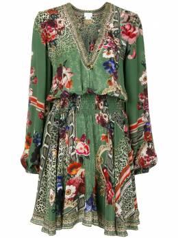 Camilla платье-рубашка с принтом 00004747