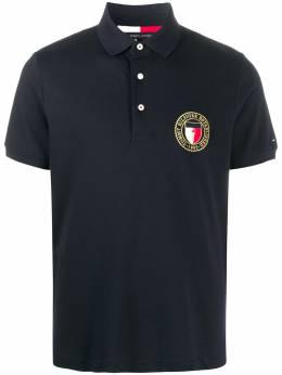 Tommy Hilfiger рубашка поло с вышитым логотипом MW0MW14166DW5
