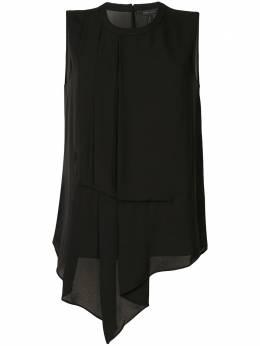 BCBGMaxAzria блузка со складками и драпировкой WQR1S783001