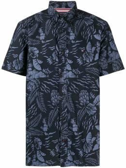 Tommy Hilfiger рубашка с короткими рукавами и принтом MW0MW127830GY