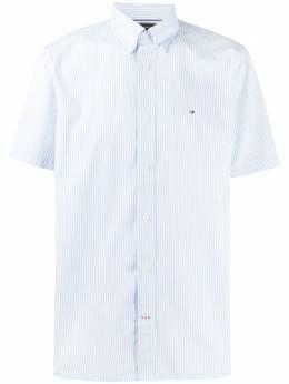 Tommy Hilfiger полосатая рубашка с вышитым логотипом MW0MW139220A5