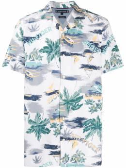 Tommy Hilfiger рубашка с короткими рукавами и принтом MW0MW136990K4
