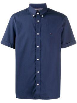 Tommy Hilfiger рубашка с вышитым логотипом MW0MW13921DCC