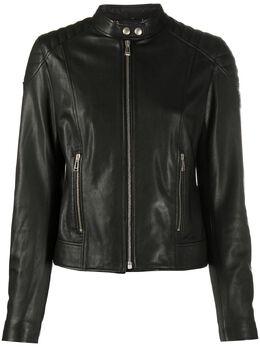 Belstaff приталенная байкерская куртка 72020447L81N0727
