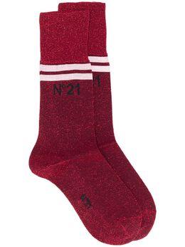 No. 21 носки с логотипом и блестками N2P63016969