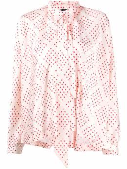 Jejia рубашка в горох с бантом E102205263