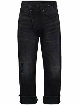 R13 укороченные брюки с запахом R13W2048394