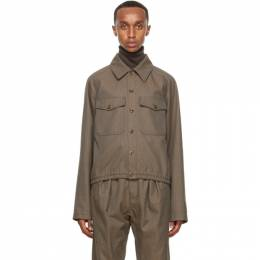 Lemaire Brown Military Jacket M 203 OW162 LF484