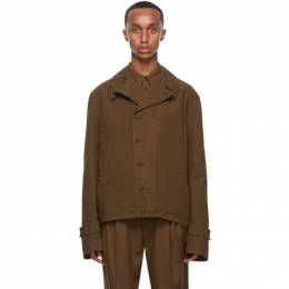 Lemaire Brown Field Jacket X 203 OW168 LF509