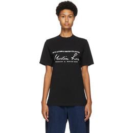 Martine Rose Black Classic T-Shirt MRAW20-603