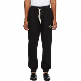 Casablanca Black Antique Logo Lounge Pants MF20-JTR-007