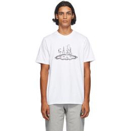 Casablanca White Service T-Shirt MF20-TS-001