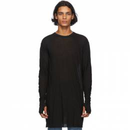 Boris Bidjan Saberi Black Glove Long Sleeve T-Shirt LS1-FTT00001