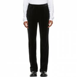 Haider Ackermann Black Velvet Lounge Pants 204-3814-221-099