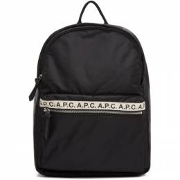 A.P.C. Black Sally Backpack PAACL-H62107