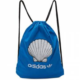 Noah Nyc Blue adidas Originals Edition Shell Drawstring Backpack GE1256