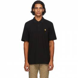 Carhartt Work In Progress Black Chase Polo I023807