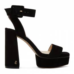 Jimmy Choo Black Jax 115 Platform Sandals JAX/PF 115 BWJ