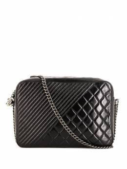 Chanel Pre-Owned каркасная сумка Coco Boy 2015-го года 356296