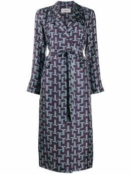 Lanvin платье-рубашка с принтом RWDR319I4631A20