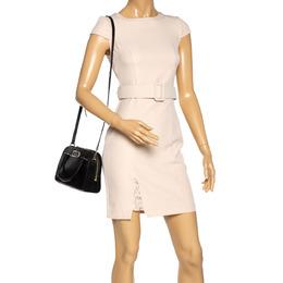 Kate Spade Black Leather and Nubuck Crossbody Bag 321454
