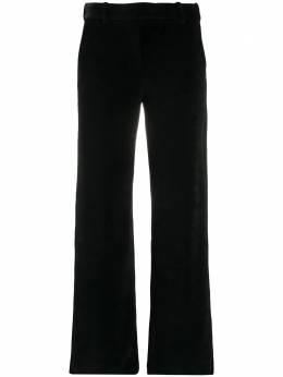 Circolo 1901 бархатные брюки прямого кроя FD1655