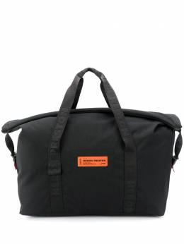Heron Preston дорожная сумка с нашивкой-логотипом HMNA024F20FAB0011000