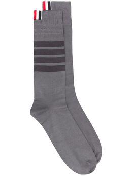 Thom Browne носки с полосками 4-Bar MAS094A01690