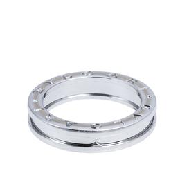 Bvlgari B.zero1 One-Band 18K White Gold Ring 56 315834