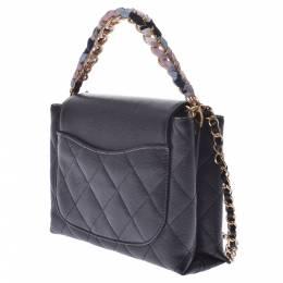 Chanel Black Caviar Flap Chain Shoulder Bag 316492