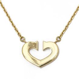 Cartier C de Cartier 18K Yellow Gold Pendant Necklace 313549